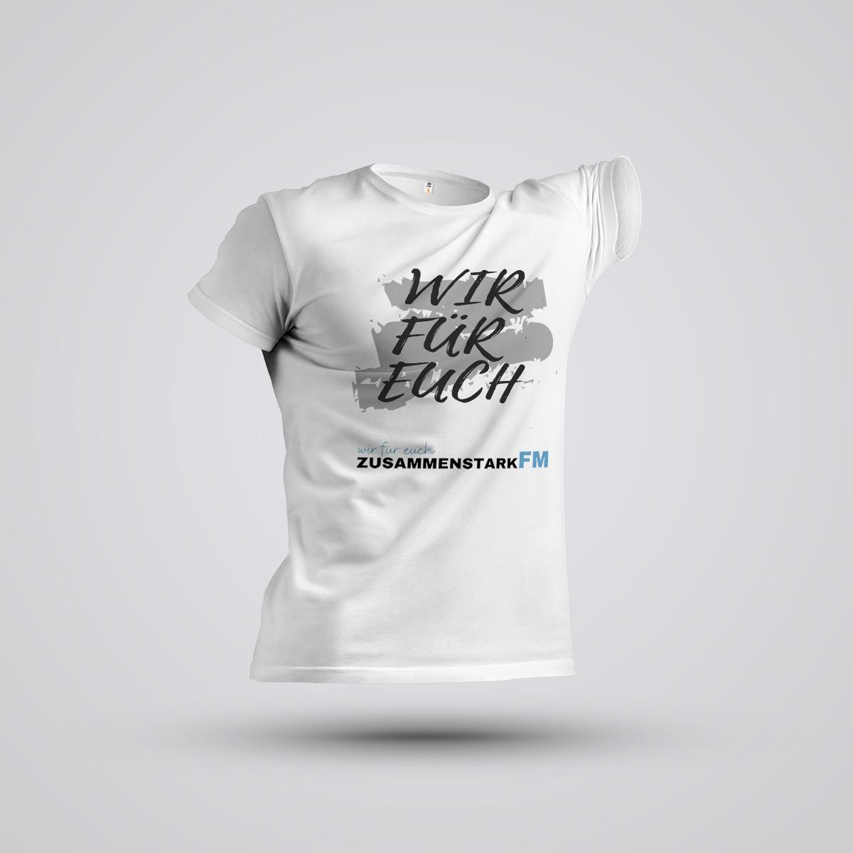 """NEWCOMER Shirt """"Zusammenstark FM"""""""