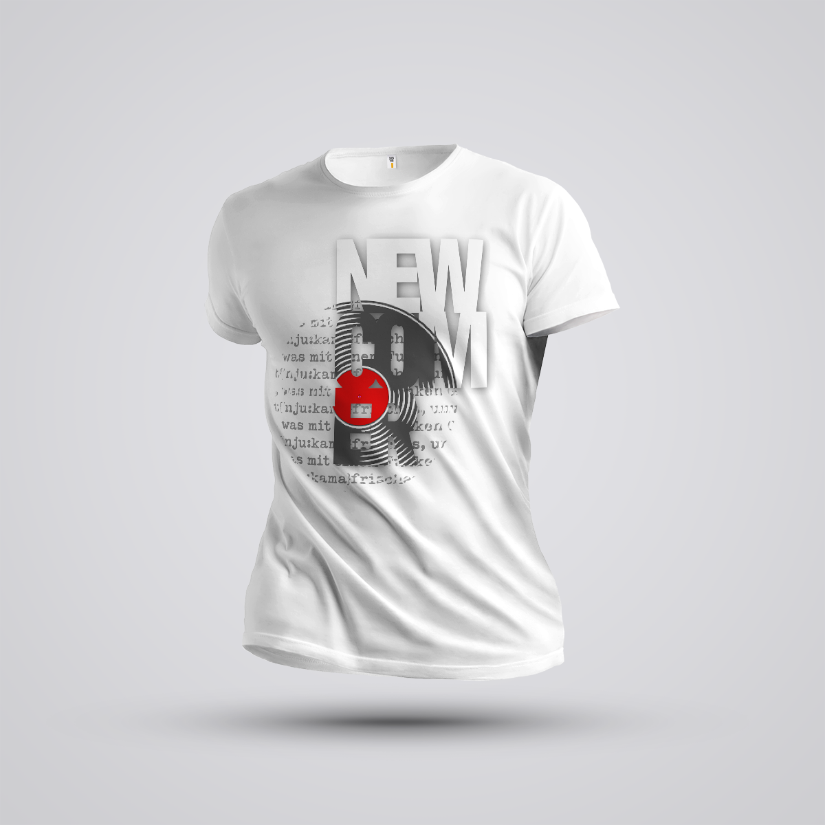 "NEWCOMER Shirt ""TRASH"""