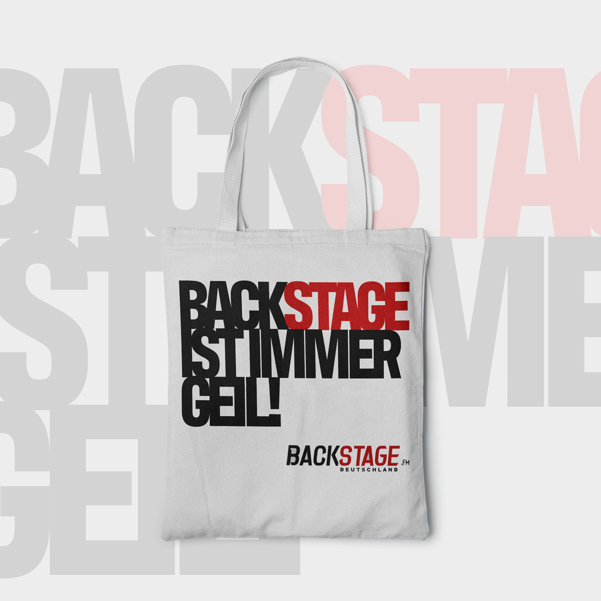 "Fanbeutel ""Backstage"""