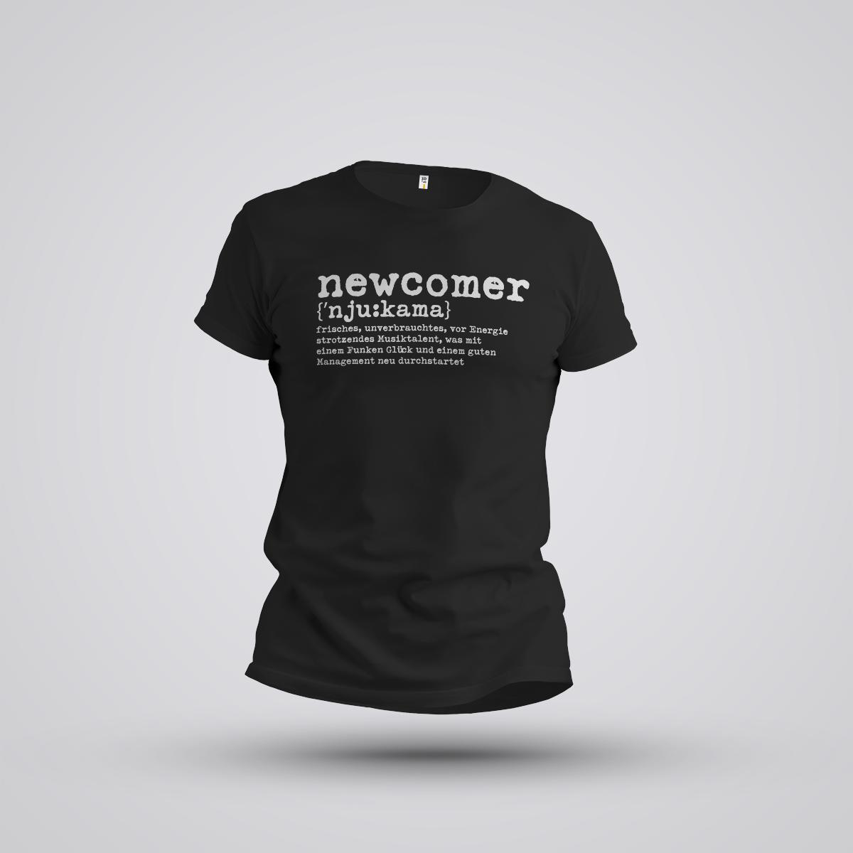 """NEWCOMER Shirt """"DUDEN"""""""